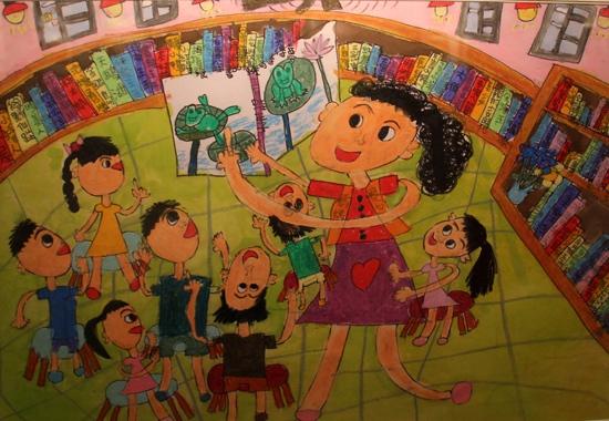 三好两岸绘美 儿童画大赛优秀作品展